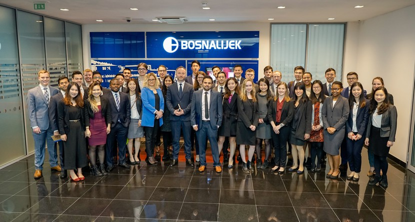Postgraduate Students from the American  University Yale visit Bosnalijek