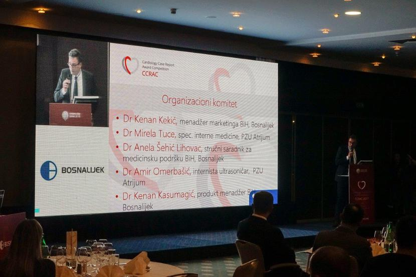 The First Regional Cardiology Case Report Award Competition  (CCRAC 2017) held in Sarajevo